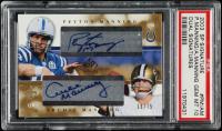 2003 SP Signature Dual Autographs #PMAM Peyton Manning / Archie Manning (PSA 10) at PristineAuction.com