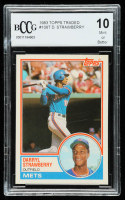 Darryl Strawberry 1983 Topps Traded #108T RC (BCCG 10) at PristineAuction.com