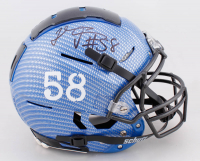 Thomas Davis Signed Full-Size Authentic On-Field Hydro-Dipped F7 Helmet (JSA COA) at PristineAuction.com