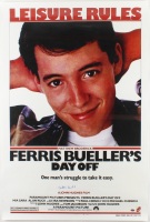 "Matthew Broderick Signed ""Ferris Bueller's Day Off"" 27x40 Poster (Schwartz COA) at PristineAuction.com"