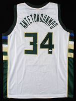 Giannis Antetokounmpo Signed Jersey (JSA COA) (See Description) at PristineAuction.com