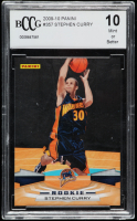 Stephen Curry 2009-10 Panini #357 RC (BCCG 10) at PristineAuction.com