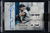 Mariano Rivera 2019 Topps Luminaries Masters of the Mound Autograph Relics Blue #MOMARMR at PristineAuction.com