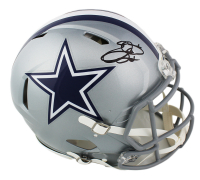 Emmitt Smith Signed Cowboys Full-Size Authentic On-Field Speed Helmet (Prova COA) at PristineAuction.com