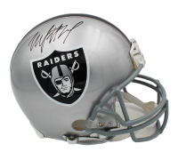 Marshawn Lynch Signed Oakland Raiders Full-Size Authentic On-Field Helmet (Radtke COA) at PristineAuction.com
