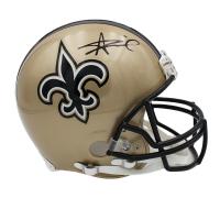 Alvin Kamara Signed Saints Full-Size Authentic On-Field Helmet (Radtke COA) at PristineAuction.com