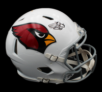Emmitt Smith Signed Cardinals Full-Size Authentic On-Field Speed Helmet (Prova COA) at PristineAuction.com