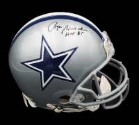 """Roger Staubach Signed  Cowboys Full-Size Authentic On-Field Helmet Inscribed """"HOF '85"""" (JSA COA) at PristineAuction.com"""