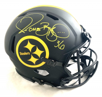Jerome Bettis Signed Steelers Full-Size Authentic On-Field Eclipse Alternate Speed Helmet (Beckett COA) at PristineAuction.com