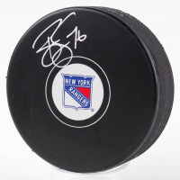 Brady Skjei Signed Rangers Logo Hockey Puck (Fanatics Hologram & Steiner Hologram) at PristineAuction.com