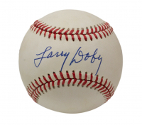 Larry Doby Signed OAL Baseball (Beckett COA) at PristineAuction.com