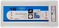 1980 Olympics Ice Hockey Ticket Stub (PSA Authentic) at PristineAuction.com