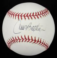 Carlos Beltran Signed OML Baseball (PSA COA & Online Authentics COA) at PristineAuction.com