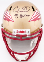 "Charlie Ward Signed Florida State Seminoles Full-Size Speed Helmet Inscribed ""93 Heisman"" (JSA COA) at PristineAuction.com"