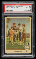 Ted Williams 1959 Fleer #1 The Early Years (PSA 4) at PristineAuction.com