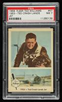 Ted Williams 1959 Fleer #47 Ted Crash Lands Jet (PSA 7) at PristineAuction.com