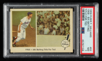 Ted Williams 1959 Fleer #62 1958 Sixth Batting Title (PSA 7) at PristineAuction.com