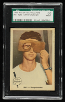 Ted Williams 1959 Fleer #24 1945 Sharpshooter (SGC 8) at PristineAuction.com