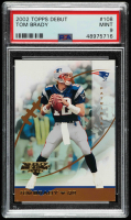 Tom Brady 2002 Topps Debut #108 (PSA 9) at PristineAuction.com