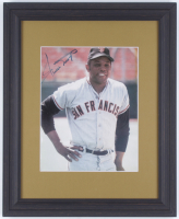 Willie Mays Signed 13x16.5 Custom Framed Photo (JSA ALOA) at PristineAuction.com