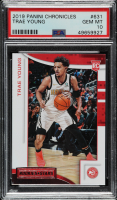 Trae Young 2018-19 Panini Chronicles #631 Rookies and Stars (PSA 10) at PristineAuction.com