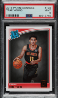 Trae Young 2018-19 Donruss #198 RR RC (PSA 9) at PristineAuction.com