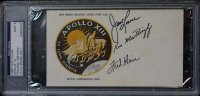 "James Lovell, Ken Mattingly & Fred Haise Signed ""Apollo 13"" Insurance FDC Envelope (PSA Encapsulated) at PristineAuction.com"