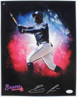 Ronald Acuna Signed Braves 11x14 Photo (JSA COA) at PristineAuction.com