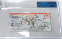 Charles Manson Signed 1994 Bank Check (JSA Encapsulated) at PristineAuction.com