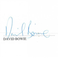 David Bowie Signed Letter of Authority (PSA COA) at PristineAuction.com
