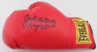 "Jake LaMotta Signed Everlast Boxing Glove Inscribed ""Raging Bull"" (JSA COA) at PristineAuction.com"