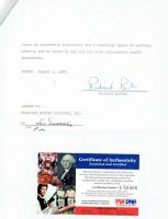 "Elizabeth Taylor & Richard Burton Signed Set of 1964 ""The Sandpiper"" Movie Contracts (PSA COA) at PristineAuction.com"
