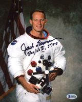"""Jack R. Lousma Signed 8x10 Photo Inscribed """"Sky Lab II, STS-3"""" (Beckett COA) at PristineAuction.com"""