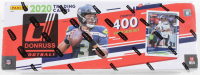 2020 Panini Donruss Football Card Box Complete Set of (400) Cards at PristineAuction.com