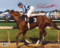 Ron Turcotte Signed Secretariat 8x10 Photo (Beckett COA) at PristineAuction.com