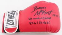 "Bronco McKart Signed Everlast Boxing Glove Inscribed ""2x World Champ."" & 47-6 (31 KO's) (JSA COA) at PristineAuction.com"