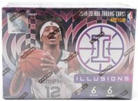 2019-20 Panini Illusions Basketball Blaster Box of (6) Packs at PristineAuction.com