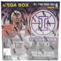 2019-20 Panini Illusions Basketball Mega Box with (10) Packs at PristineAuction.com