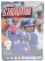 2020 Topps Stadium Club Baseball Blaster Box with (8) Packs at PristineAuction.com