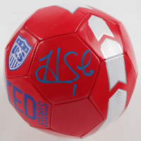 Hope Solo Signed Team USA Logo Soccer Ball (JSA COA) at PristineAuction.com