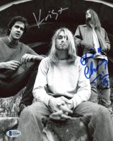 Chad Channing & Krist Novoselic Signed Nirvana 8x10 Photo (Beckett COA) at PristineAuction.com