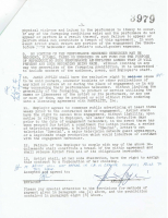 Janis Joplin Signed Contract (PSA LOA) at PristineAuction.com