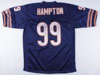 """Dan Hampton Signed Bears Jersey Inscribed """"HOF 2002"""" & """"DANIMAL"""" (JSA COA) at PristineAuction.com"""