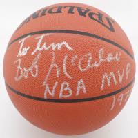 "Bob McAdoo Signed Official NBA Game Ball Inscribed ""NBA MVP 1975"" (JSA COA) at PristineAuction.com"