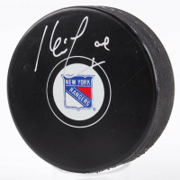 Kevin Lowe Signed Rangers Logo Hockey Puck (Fanatics Hologram & Steiner Hologram) at PristineAuction.com