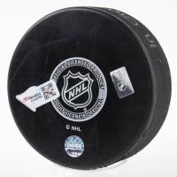 Kevin Lowe Signed Rangers Logo Hockey Puck (Fanatics Hologram & Steiner Hologram) at PristineAuction.com