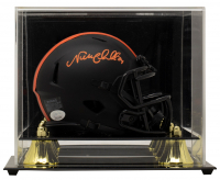 Nick Chubb Signed Browns Eclipse Alternate Speed Mini Helmet with Display Case (JSA COA) at PristineAuction.com