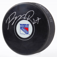 Ryan McDonagh Signed Rangers Logo Hockey Puck (Fanatics Hologram & Steiner Hologram) at PristineAuction.com