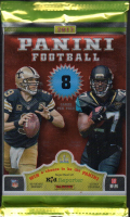2017 Panini Football Pack with (8) Cards at PristineAuction.com