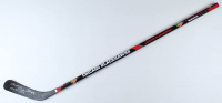 "Bobby Hull Signed Blackhawks Logo Franklin Hockey Stick Inscribed ""HOF 1983"" (Schwartz Sports COA) at PristineAuction.com"